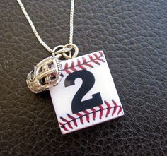Baseball Necklace.