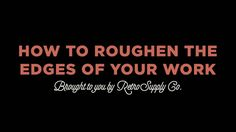How to Roughen the Edges of Your Work in Photoshop [FREE BRUSH PACK]