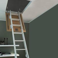 M s de 25 ideas incre bles sobre escaleras plegables en - Escalera plegable altillo ...