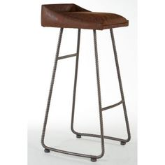 Basement Bar Inspiration For Your Man Cave Dreams Bar Stools Uk, Vintage Bar Stools, Leather Bar Stools, Modern Bar Stools, Modern Chairs, Modern Armchair, Dining Room Chair Cushions, Eames Chairs, Dining Chairs
