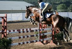 I used to ride horses but I never competed. I regret that now because I never know how I would have done.
