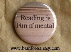 reading is fun n' mental by beanforest on Etsy,