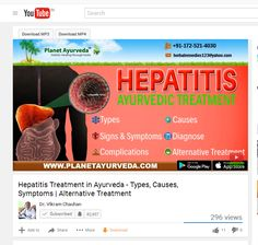 Hepatitis is the inflammation of the liver, most commonly caused by a viral infection. The herbs are very effective to cure disease; on the other hand, these herbs are also helpful in maintaining the overall health. Ayurveda has a lot to offer in treatment of Hepatitis of all types. If someone suffers from Hepatitis, usually they don't even know that herbs used in Ayurveda have been found to be very effective in treating all liver conditions including Hepatitis of all types