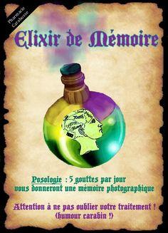 affiche elixir mémoire