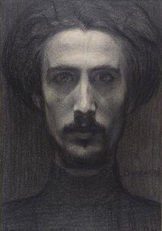 Domenico Baccarini - Autoportrait, 1903