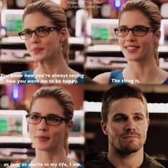 "#Arrow 3x16 ""The Offer"" - Felicity and Oliver"