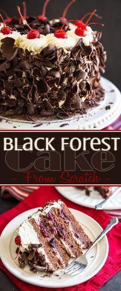 Black Wood Cake