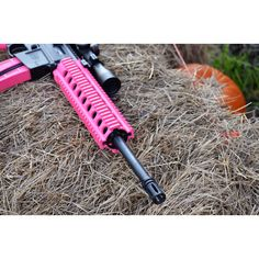 ITS PINK!  Although I would be more impressed if it was purple. - www.Rgrips.com