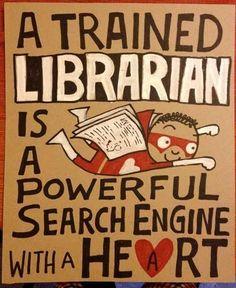 A trained librarian... #bibliotecarios