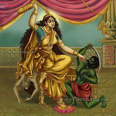 Goddess Bagalamukhi-The Goddess of Hypnosis & Paralyzation