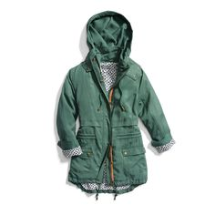 Stitch Fix Spring Outerwear: Green Anorak