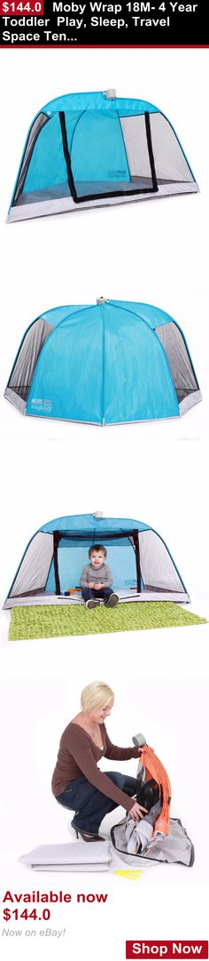 Baby play shades and tents: Moby Wrap 18M- 4 Year Toddler Play, Sleep, Travel Space Tent With Uv Protection BUY IT NOW ONLY: $144.0