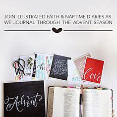 shanna noel: Illustrated Faith | Journaling the Advent