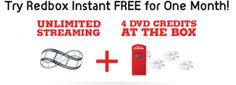 4 Free Redbox Codes PLUS unlimited Streaming