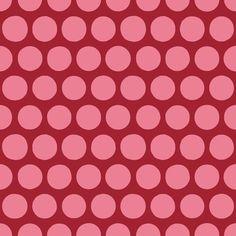 aril pom spot pink fabric by scrummy on Spoonflower - custom fabric