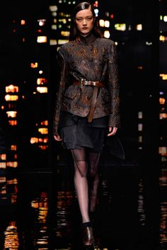 Donna Karan Fall 2015 Ready-to-Wear - Front-row - Gallery - Style.com