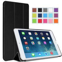 MoKo Apple iPad Mini with Retina Display Case - Ultra Slim Smart shell for Mini 2 (2013) and Mini 1 (2012 Edition), BLACK (With Smart Cover Auto Wake / Sleep) MoKo http://www.amazon.com/dp/B0083OXSBS/ref=cm_sw_r_pi_dp_M.iItb1XT53SZJXX
