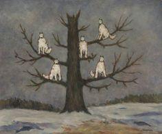 Sergei Pankejeff Wolves in Tree