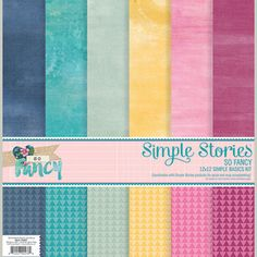 Paper Crafts > Paper > Paper Packs > So Fancy Simple Basics Kit - Simple Stories: A Cherry On Top