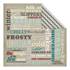Elements 12x12 Double Sided Paper Fancy Pants Timbergrove