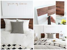"Ikea ""Malm"" Headboard Hack for Nolan Ikea Headboard, Ikea Malm Bed, Ikea Bed Hack, Headboard Makeover, Headboards For Beds, Diy Furniture Projects, Furniture Makeover, Apartment Furniture, Diy Interior"