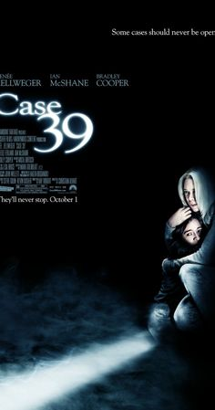 Case 39, 2009 - Directed by Christian Alvart.  With Renée Zellweger, Ian McShane, Jodelle Ferland, Bradley Cooper. A social worker fights to save a girl from her abusive parents, only to discover that the situation is more dangerous than she ever expected.