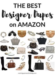 Want the look without paying the price? I& found the BEST Designer Dupes o. Things To Buy, Good Things, Stuff To Buy, Athleisure, Amazon Clothes, Amazon Dresses, Dresses Online, Budget Fashion, Mom Style