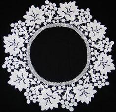 Battenberg Grape Lace ring