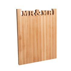 A wedding Gifts for ALL! Don't see one that fits? Make your own personalized board! www.wordswithboards.com