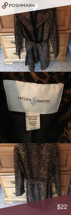 Jaclyn smith spring coat size lg Jaclyn Smith spring coat size large never really worn Jaclyn Smith Jackets & Coats Trench Coats