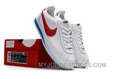 NIKE CORTEZ NYLON PRM White Blue Red New Style FrbFxt 706523e64