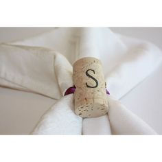 Wine cork craft project Ideas, wine cork place card holders, wine cork ideas found on Polyvore