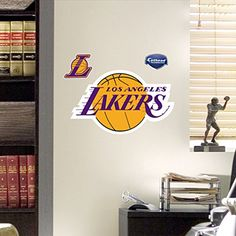 NBA Los Angeles Lakers Logo Teammate Fathead Decal FATHEAD https://www.amazon.com/dp/B005BE6ULI/ref=cm_sw_r_pi_dp_x_b.Ggyb77D6B04