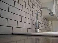 cream metro tiles grey grout