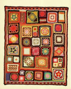 Granny Square Patterns for Afghans - Bing Images