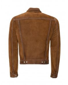 Suede Classic Collar Jacket