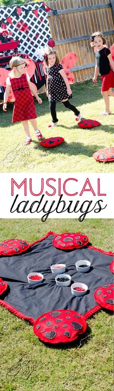 Ladybug Party Games by Lindi Haws of Love The Day