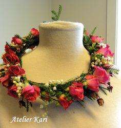 Atelier Kari naturdekorasjoner og kranser Wreaths, Atelier, Bouquet, Floral Arrangements