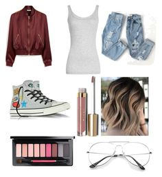 """""""💍👅"""" by nariviahoyos on Polyvore featuring Mulberry, Vince, Converse and Stila"""