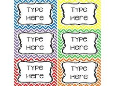 Is your goal to get organized this year? These Editable Chevron labels / tags will be perfect for your classroom! You will need to have POWERPOINT to add your own text to the labels / tags. You will open the file after downloading. Highlight the text within the text box, and type your own text.