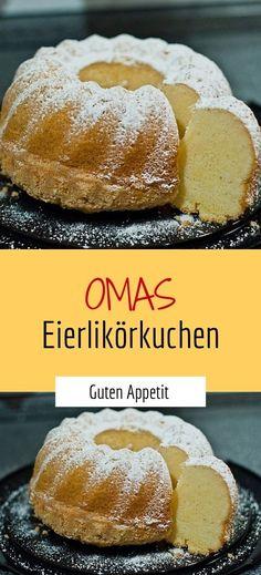 Omas Eierlikörkuchen - - REZEPTE - Gute Rezepte ( rezeptinminute ) - Omas Eierlikörkuchen You are in the right place about casserole recipes Here we offer you the most - Potato Recipe For Kids, Sweet Potato Recipes Healthy, Healthy Dessert Recipes, Best Cake Recipes, Apple Recipes, Baking Recipes, Eggnog Cake, Sweet Potato Pecan, Potatoe Casserole Recipes