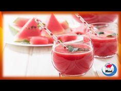 Receta de batido refrescante e hidratante para combatir el calor del verano - YouTube