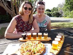 These two lovely Irish Lass's enjoyed a beautiful sunny day out with Cork 'n Fork Tours. The had decided to partake of the Beer v Wine tour which includes a delicious Gourmet Pizza for lunch, preceded by wine tastings and a visit to the distillery   Between the three of us we had three pizza's all with different toppings, the girls were fortunate to be able to wash them down with a few beers. Me all I had was soft drink and water,..... ah well!! the wine that night was great.