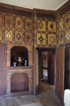 Jacobean Decoration    Canon Ashby, Northamptonshire