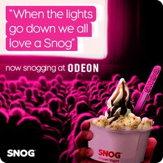 SNOG Odeon. Following a successful rollout of stores in 2014, BCS have continued this successful partnership into 2015 #SNOG Frozen Yoghurt www.bcsgrp.uk Frozen Yoghurt, Downlights, Commercial, Success, Projects, Log Projects, Blue Prints