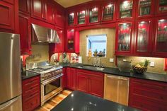 Kitchen Cabinet Color Trends - Home Furniture Design Refacing Kitchen Cabinets, Kitchen Cabinet Colors, Painting Kitchen Cabinets, Kitchen Sets, Kitchen And Bath, Kitchen Paint, Kitchen Wall Design, Kitchen Decor, Layout Design