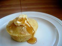 Pancake Cupcakes!  What a fun breakfast!