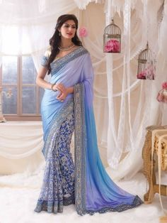 latest fashion designer sarees online,Best wide range of designer sarees, wedding saris, party wear and hand-painted sarees online in different fabrics, colors and styles Saris, India Fashion, Asian Fashion, Look Fashion, Bollywood Saree, Bollywood Fashion, Indian Dresses, Indian Outfits, Beautiful Saree
