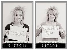 Bachlorette Party mugshots!