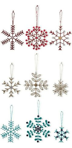 Pretty Ornaments!